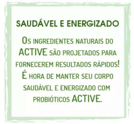 ACTIVE Probiótico Natural