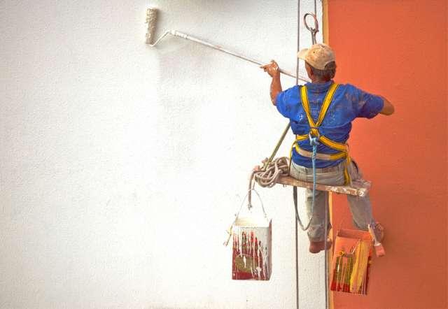 Pintura de Fachada de prédios edificios condominios rj rio de janeiro Whatsapp 2199935-8395