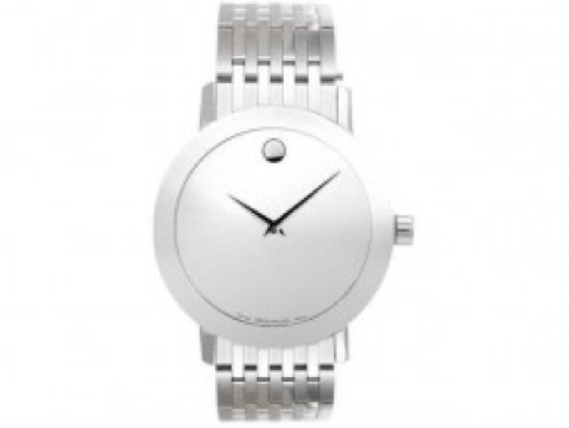Movado Safira Mens Watch 0606171-Made in Suiço.