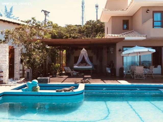 Casa Triplex 4 Suite 2 Sal. 6 Banh. 2 V. Gar 300m2 F/Mar Buzios AMA1230