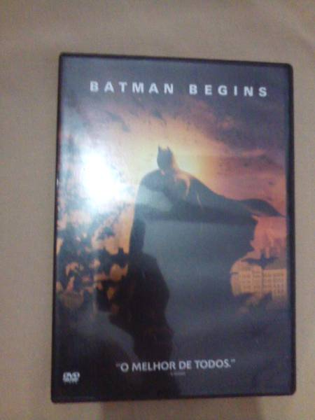 Dvd Batman Begins