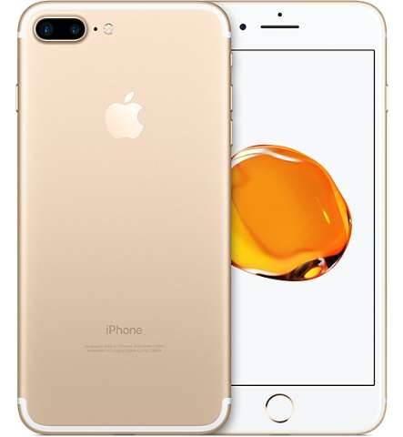 Iphone 7 Plus - Réplica Perfeita - Gold - Frete Grátis