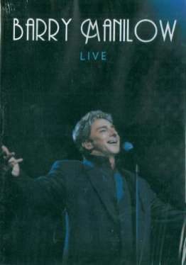 DVD Barry Manilow - Live