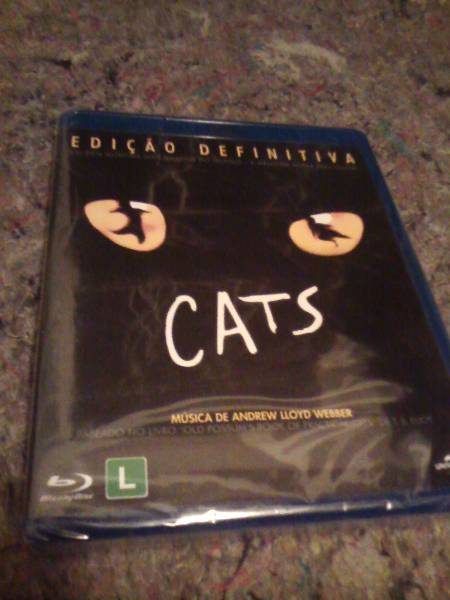 Blu-ray Cats - O Musical